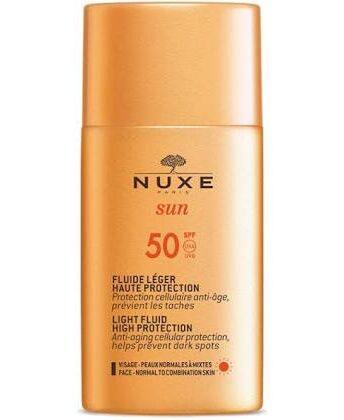 Fluido leggero alta protezione SPF50 NUXE Sun